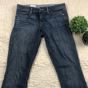 Gap straight leg light wash jeans